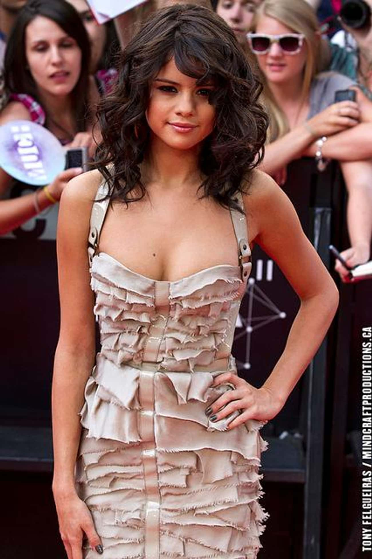 Selena Gomez is listed (or ranked) 3 on the list Famous Hispanic Actresses