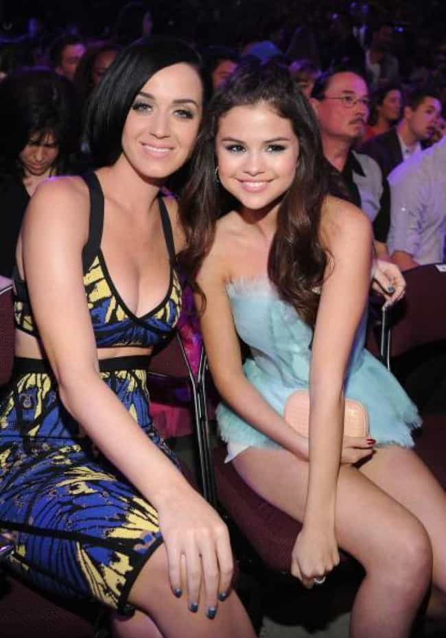 Selena Gomez is listed (or ranked) 3 on the list Famous Friends of Katy Perry