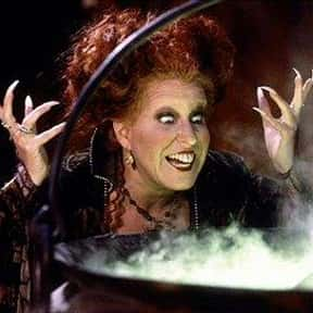 Winifred Sanderson is listed (or ranked) 14 on the list The Greatest Female Villains