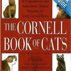 The Cornell Book of Cats is listed (or ranked) 21 on the list The Best Books About Cat Care