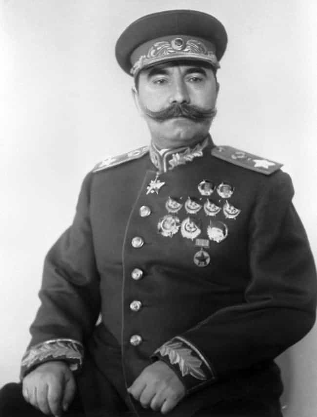 Semyon Budyonny is listed (or ranked) 4 on the list The Worst World War II Generals