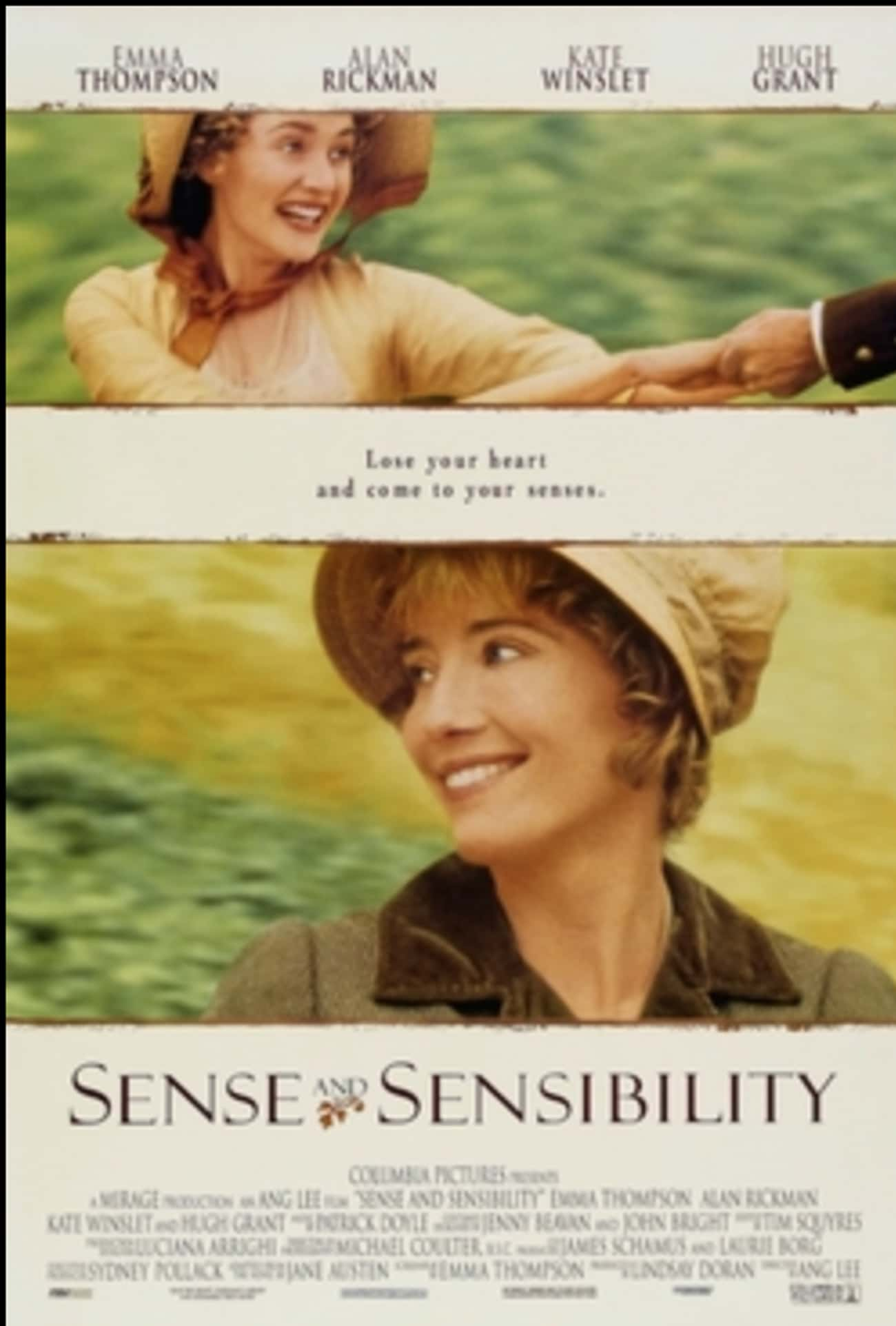 Sense and Sensibility is listed (or ranked) 3 on the list What to Watch If You Love Downton Abbey