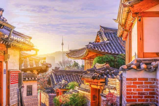 Seoul is listed (or ranked) 4 on the list The Most Beautiful Cities in Asia