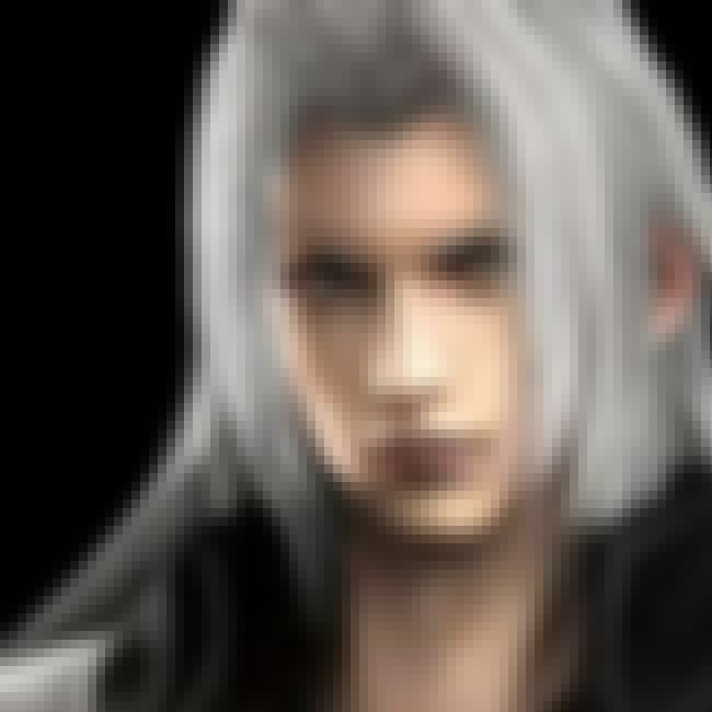 Sephiroth is listed (or ranked) 3 on the list The Best Video Game Characters with White Hair
