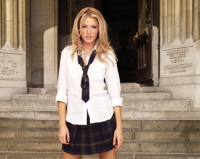 Serena van der Woodsen ... is listed (or ranked) 1 on the list 13 Teen Drama Characters Who Are Way Too Sexy To Be High Schoolers