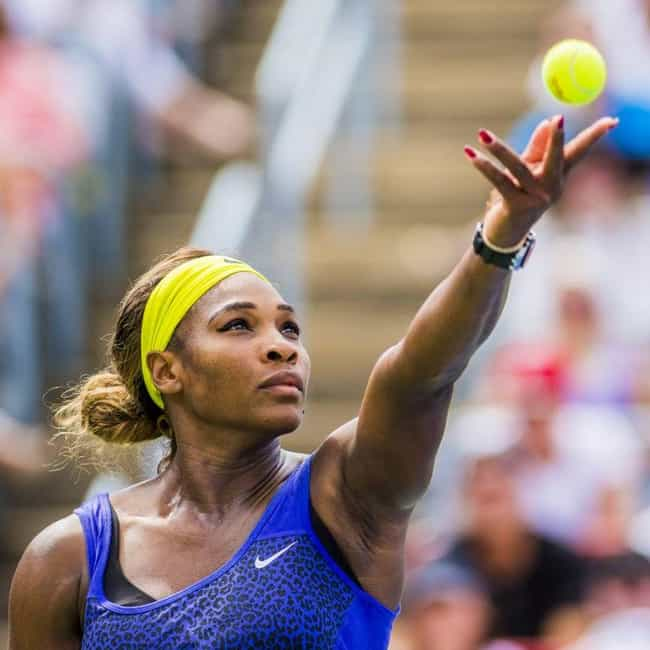 Serena Williams is listed (or ranked) 3 on the list 30 Famous Jehovah's Witnesses