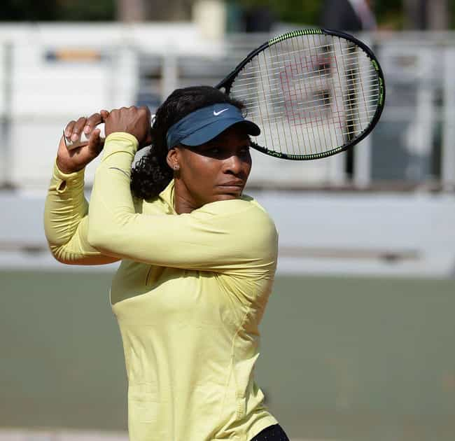 Serena Williams is listed (or ranked) 5 on the list Famous Libra Celebrities