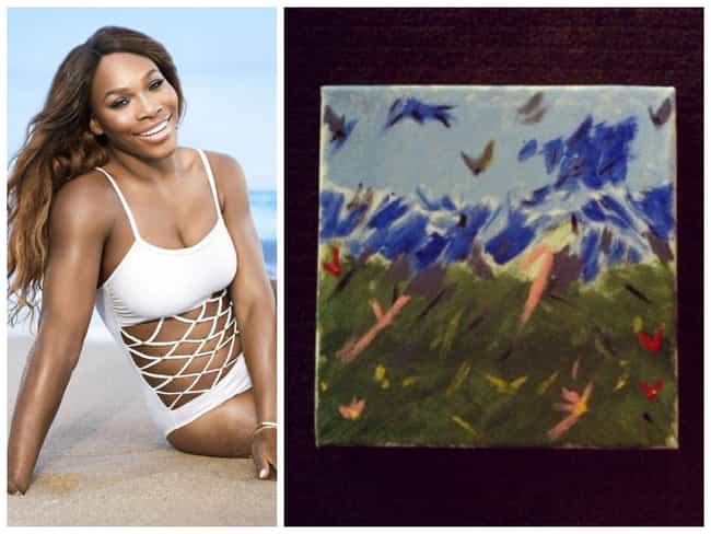 Serena Williams is listed (or ranked) 1 on the list 10 Pro Athletes Who Are Also Accomplished Artists