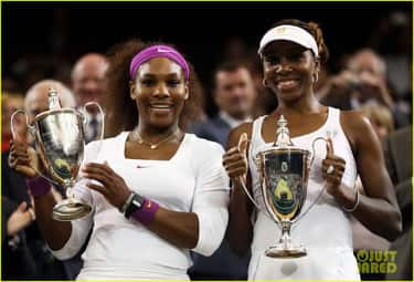 Venus & Serena Williams is listed (or ranked) 1 on the list 14 Athletes Who Are Related