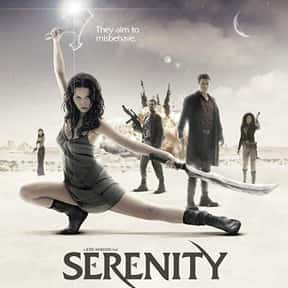 Serenity is listed (or ranked) 11 on the list The Best Space Movies