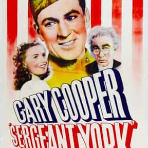 Sergeant York is listed (or ranked) 22 on the list The Best Military Movies Ever Made