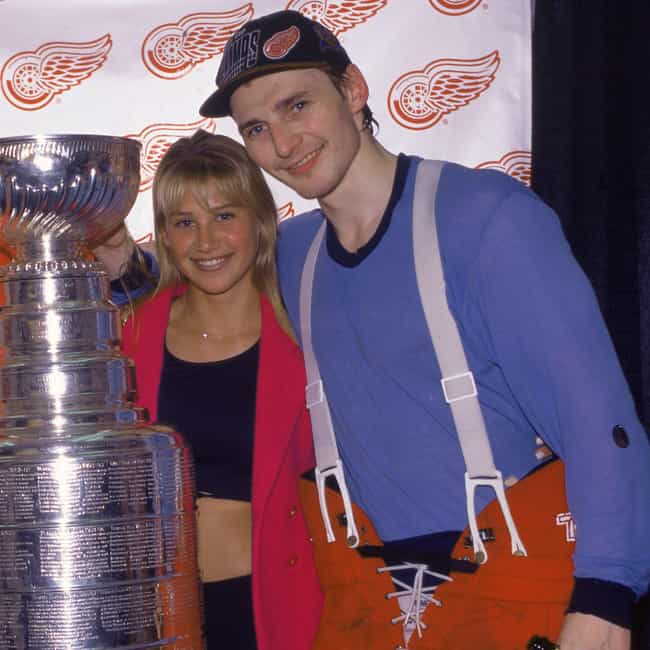 Sergei Fedorov is listed (or ranked) 4 on the list Anna Kournikova Loves and Hookups