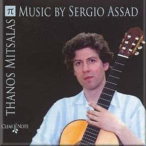 Sergio Assad is listed (or ranked) 16 on the list Famous Guitarists from South America