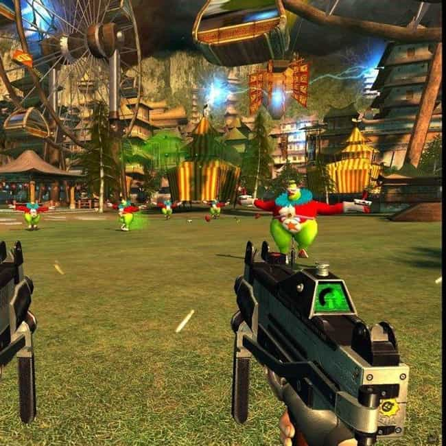 Serious Sam is listed (or ranked) 3 on the list Video Games That Subtly Trick You Into Having Fun