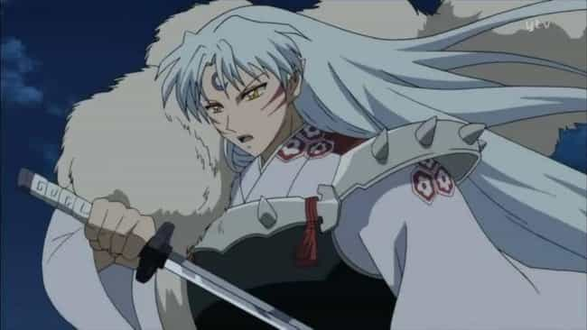Sesshomaru is listed (or ranked) 3 on the list 20 Anime Bad Boys You Can't Get Enough Of