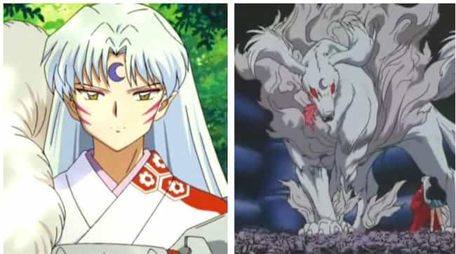 Sesshomaru is listed (or ranked) 4 on the list The 16 Most Extreme Transformations In Anime History