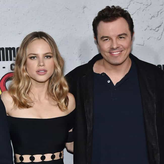 Seth MacFarlane is listed (or ranked) 2 on the list Halston Sage Loves and Hookups
