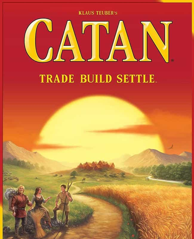 Settlers of Catan is listed (or ranked) 1 on the list The Most Popular Family Board Games Right Now