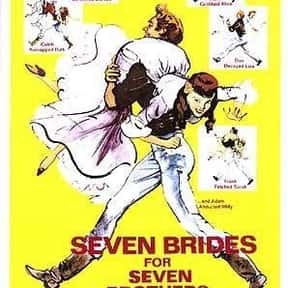 Seven Brides for Seven Brother is listed (or ranked) 18 on the list The Best Oscar-Nominated Movies of the 1950s