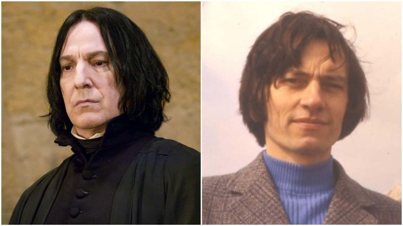 Snape From 'Harry Potter' Was Based On J.K. Rowling's Science Teacher