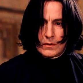 Severus Snape is listed (or ranked) 10 on the list The Greatest Harry Potter Characters, Ranked