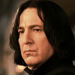 Professor Severus Snape is listed (or ranked) 10 on the list The Saddest Deaths in Kids Movies