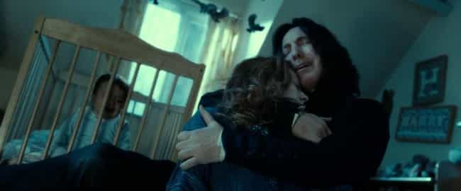 Professor Severus Snape ... is listed (or ranked) 1 on the list Film and TV Characters Most Doomed to Spend Forever in the Friendzone