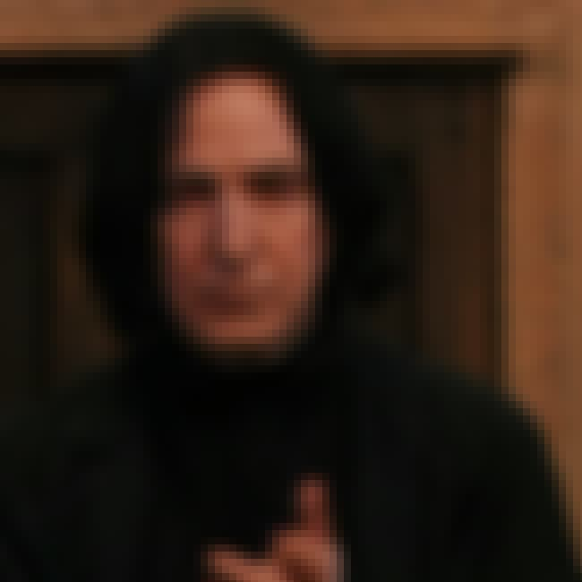 Professor Severus Snape is listed (or ranked) 2 on the list All the Defense Against the Dark Arts Teachers, Ranked