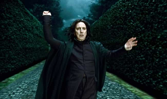 Professor Severus Snape ... is listed (or ranked) 2 on the list The Most Powerful Wizards In The 'Harry Potter' Franchise, Ranked