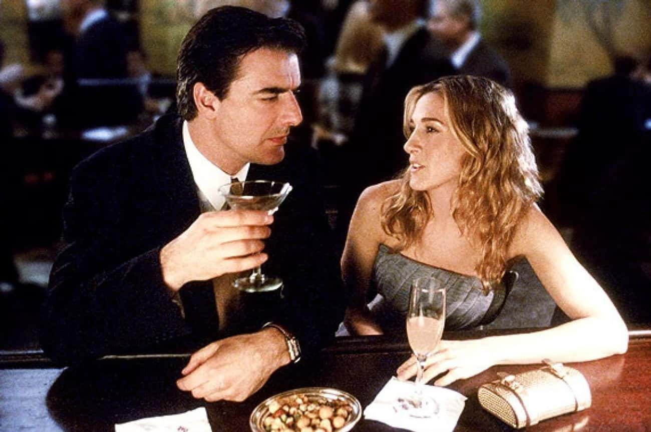 Carrie and Big from Sex and th is listed (or ranked) 4 on the list Celebrated Fictional Relationships That Are Actually F'ed Up