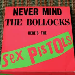 Sex Pistols is listed (or ranked) 2 on the list Bands/Artists With Only One Great Album
