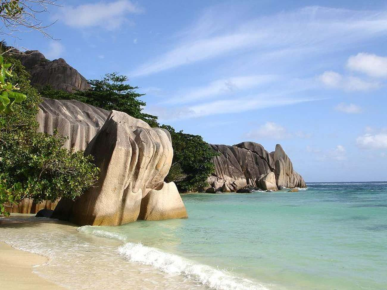 Seychelles is listed (or ranked) 4 on the list The Best Tropical Destinations