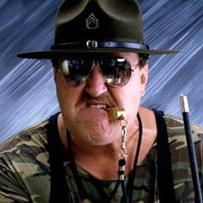 Sgt. Slaughter is listed (or ranked) 2 on the list The Real Names of 53 Wrestlers