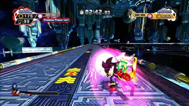 Shadow the Hedgehog is listed (or ranked) 2 on the list List of All Sonic Generations Bosses Ranked Best to Worst