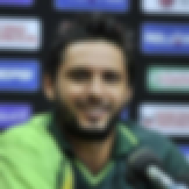 Shahid Afridi is listed (or ranked) 4 on the list The Top 10 Handsome Cricketers