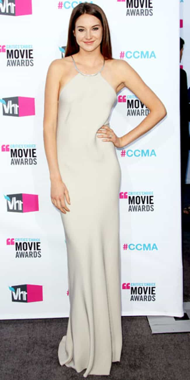 Shailene Woodley is listed (or ranked) 6 on the list Celebrities in Calvin Klein Dresses