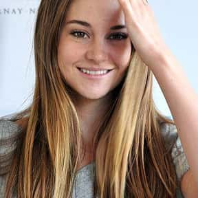 Shailene Woodley is listed (or ranked) 3 on the list Who Was America's Sweetheart in 2018?