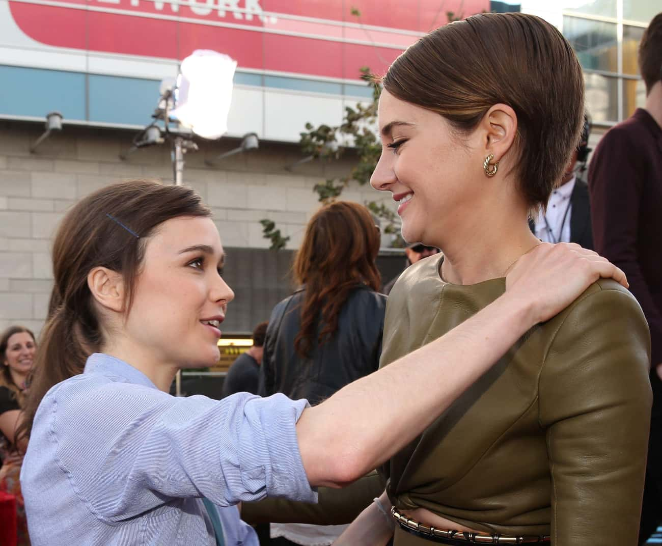 Shailene Woodley is listed (or ranked) 3 on the list Ellen Page Loves and Hookups