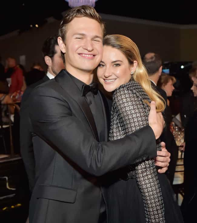 Shailene Woodley is listed (or ranked) 2 on the list Ansel Elgort Loves and Hookups