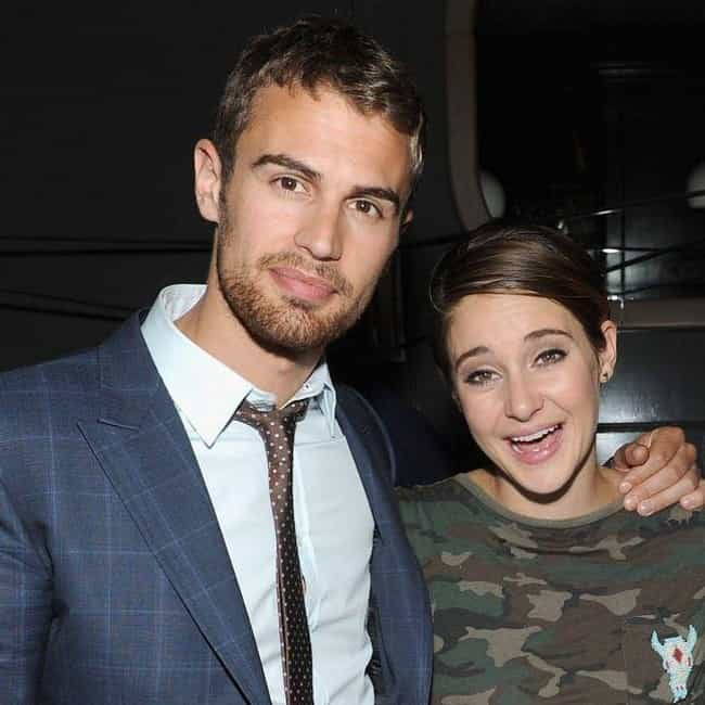 Shailene Woodley is listed (or ranked) 3 on the list Theo James Loves and Hookups