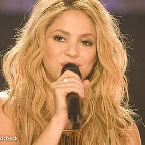 Shakira is listed (or ranked) 13 on the list The Greatest New Female Vocalists of the Past 10 Years