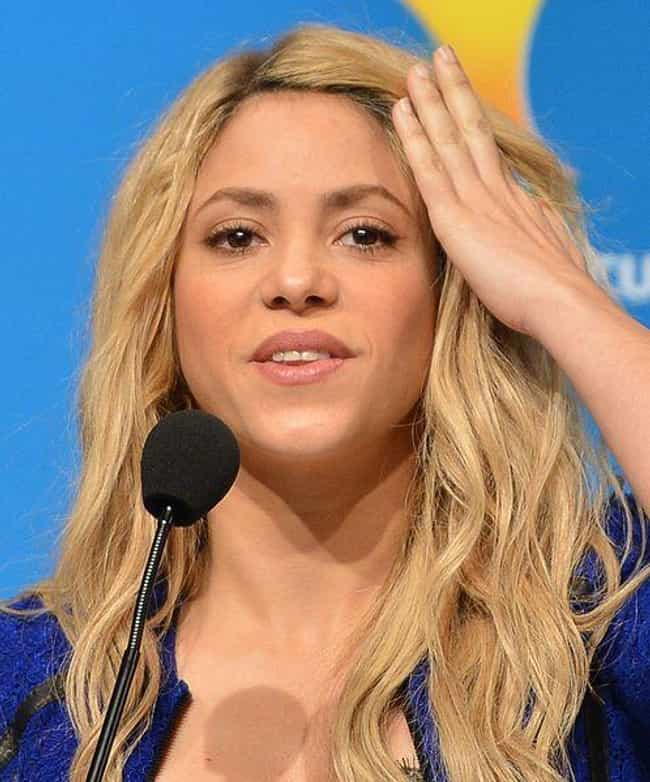 Shakira is listed (or ranked) 4 on the list 33 Celebrities Who Drive Teslas