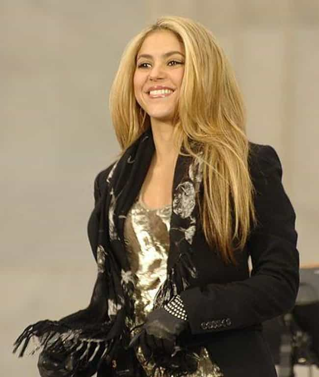 Shakira is listed (or ranked) 9 on the list The Greatest Lip-Syncing FAILs