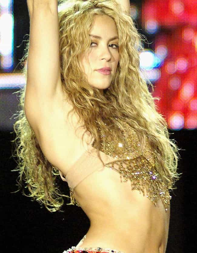 Shakira is listed (or ranked) 6 on the list Famous Aquarius Celebrities