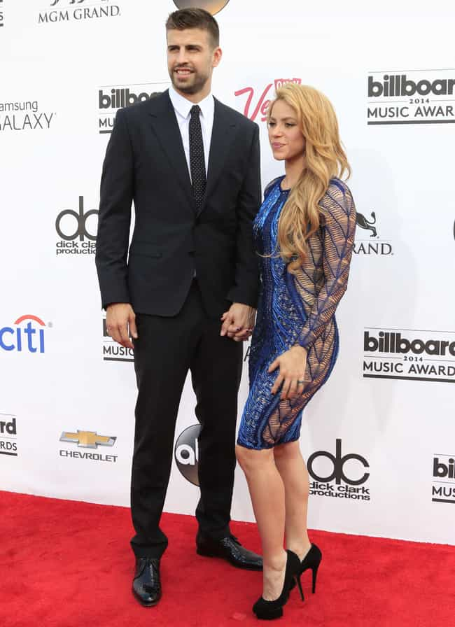 Shakira is listed (or ranked) 2 on the list Celebrity Couples With Major Height Differences
