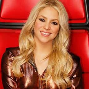 Shakira is listed (or ranked) 8 on the list The Worst TV Talent Show Judges Of All Time