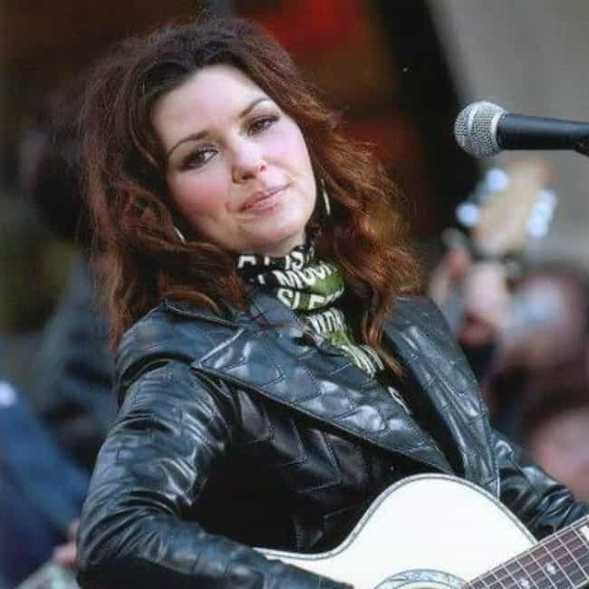 Shania Twain is listed (or ranked) 1 on the list Country Singers Who Are Sober