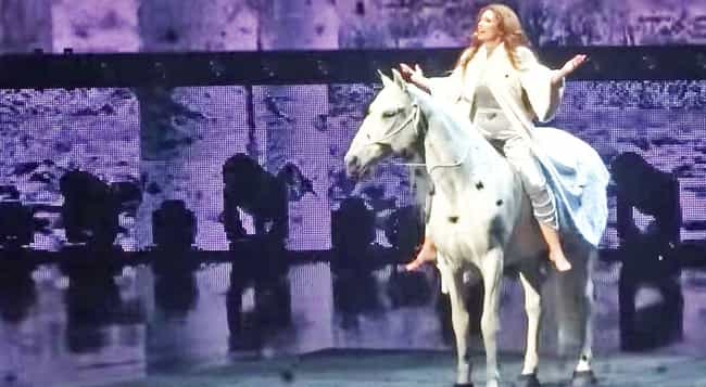 Shania Twain is listed (or ranked) 2 on the list Country Singers Who Have Horses