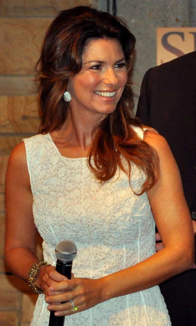 Shania Twain is listed (or ranked) 3 on the list Famous People Living With Lyme Disease