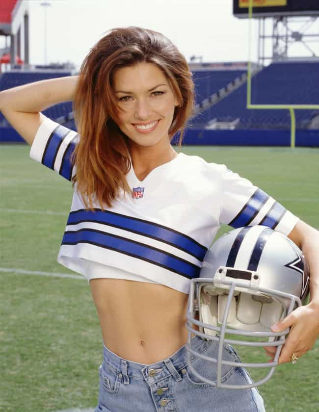 Shania Twain is listed (or ranked) 1 on the list The 100+ Hottest Women of the '90s